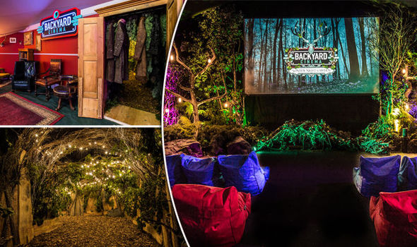 Backyard Cinema – Best Pop-up of London Cinema's