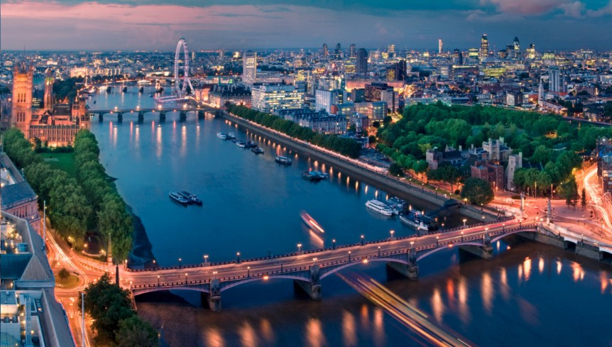 Best places to view London skyline