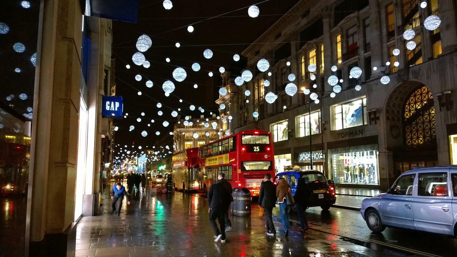 Oxford Street Lights London