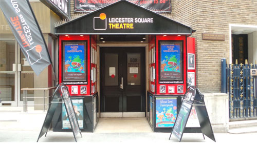 Leicestre Square theatre London