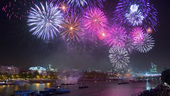 River Thames Fireworks