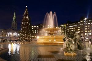 Carols at Trafalgar square