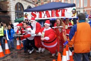 christmas pudding race london