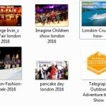 london february events 2016