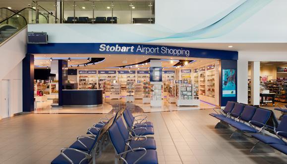 Stobart airport shopping